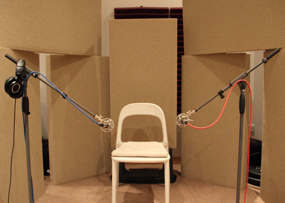 recording studio live room acoustic treatment gobos